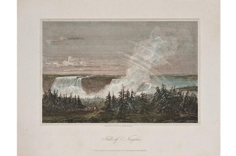 Falls of Niagara (published in London, 1812)