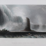 Niagara Falls from the Ferry  (1837)  SOLD
