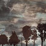 Dark storm acrylic 8 x 10 150