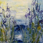 Wild Irises For You_22 12x12 $325