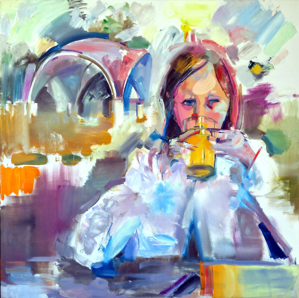 Skye with Orange Juice in Montebello Park