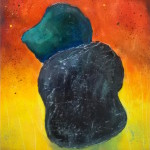 5mabo_two stones_acrylic on paper 18x12 200