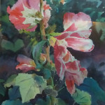 2_wilson_hollyhocks_watercolour 17x13 900