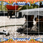 3custodio_Muddy Boots_photo transfer on tile 20x20 900