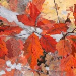 7Huibers_oak leaves_acrylic 18x24 400 copy