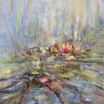 10woolven_water lily4_oil 20x16 425