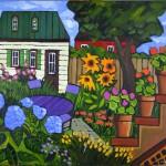 2bedard_Diane's Garden 30 X 36 1300