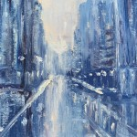 4woolven_cityscape-1_oil:cold-wax 10x8 200