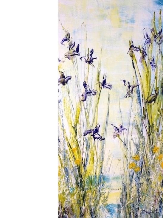 Wild Iris Glow