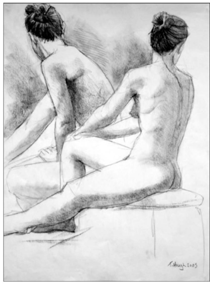 Tanya (figure study)