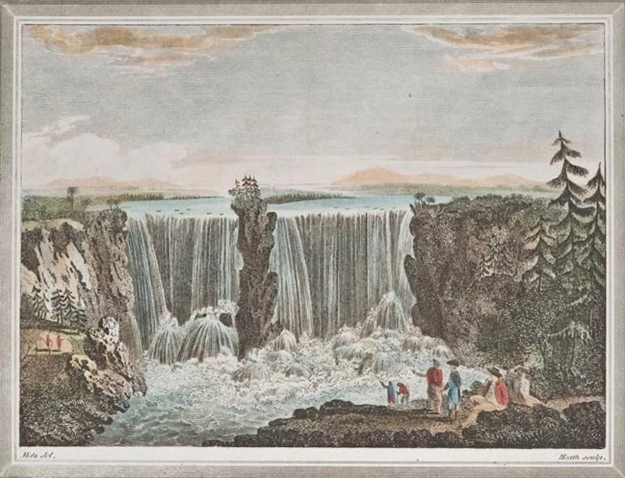 The Falls of Niagara in Canada (1812)