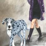4Zoe_Lefort_Harlequin_oil on canvas 48x36
